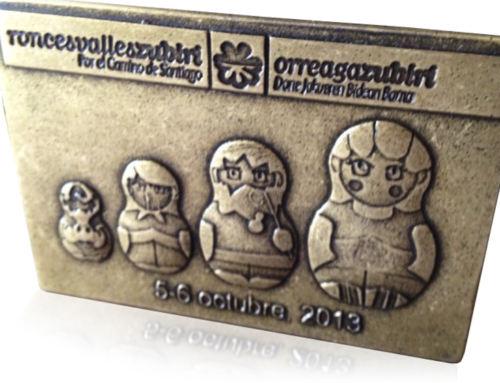 Medalla Roncesvalles Zubiri