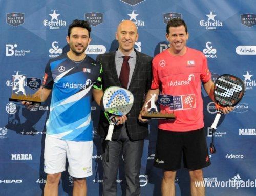 Campeones Final 2016 Madrid Paquito Navarro-Sanyo Gutierrez