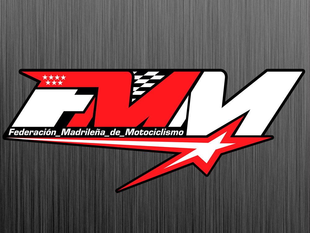 logo de la federación Madrileña de Motociclismo