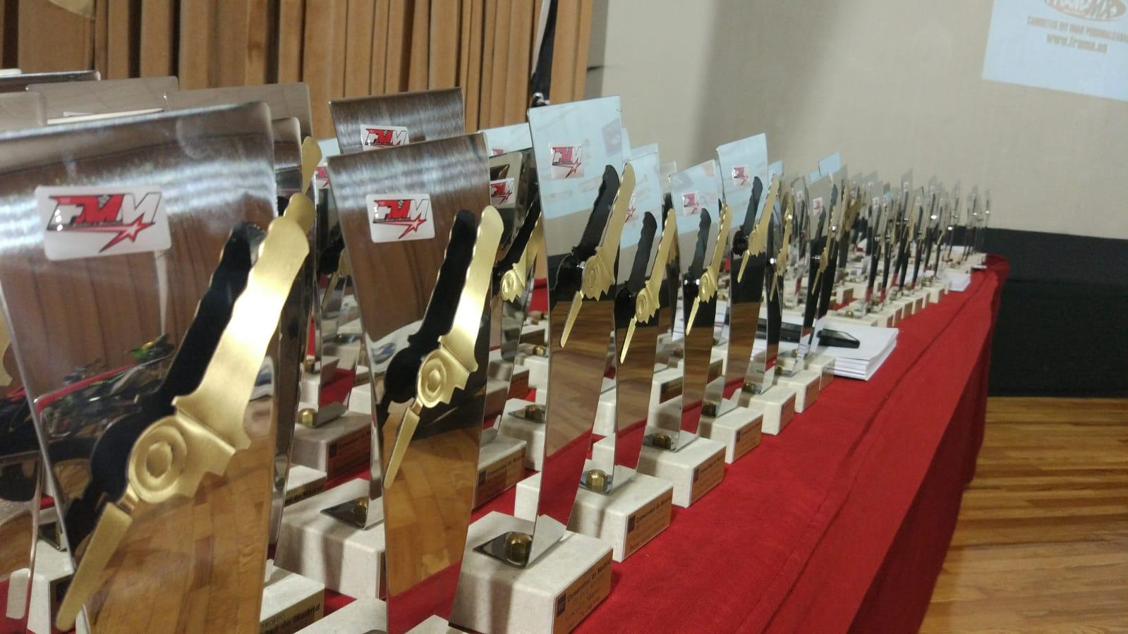 Trofeos 2018 para la Federación Madrileña de Motociclismo